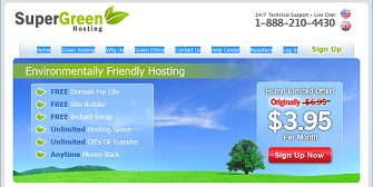 SuperGreen Web Hosting
