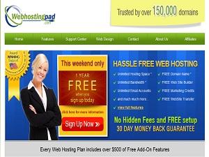 Webhostingpad.com Web Hosting