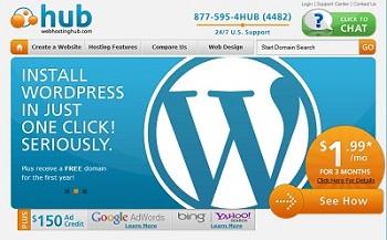 Webhostinghub $1.99/month